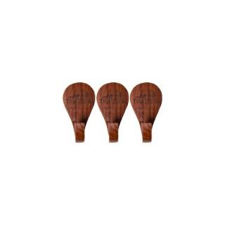 3 Crochets porte-ustensiles Traeger en bois à aimanter 659786