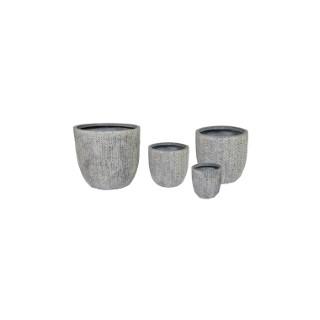 Pot gris Indiana 12,5L – 45x43 cm 659932