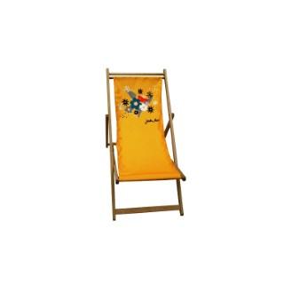 Chilienne amovible Floralies Safran en polyester 659967