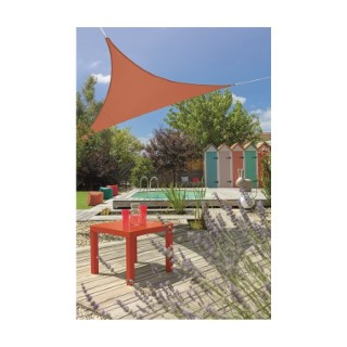Voile ombrage camel 3,6 m triangulaire extensible 660061
