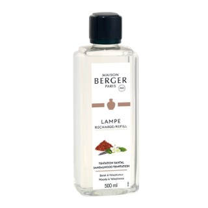 Parfum tentation santal en flacon de 500 ml 660257