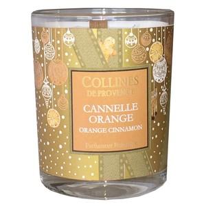 Bougie parfumée senteur cannelle orange de 75 g 660312