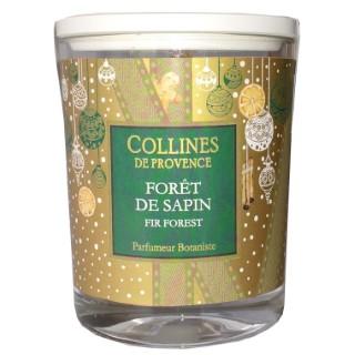 Bougie parfumée senteur forêt de sapin vert de 180 g 660317