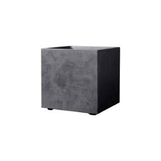 Bac Millenium carré gris anthracite 80 litres 49x49 cm 660349