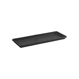 Soucoupe pour balconnière Barcelona Elho coloris noir 35 x 16 cm 660822
