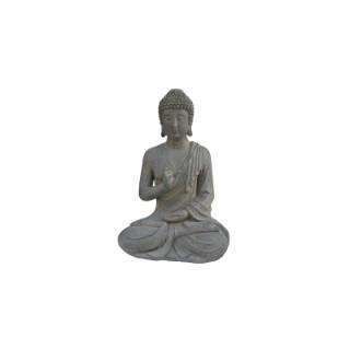 Statue de jardin Bouddha assis – 21x15x30 cm 661396