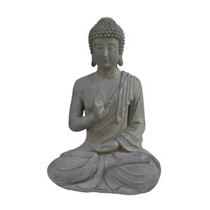 Statue de jardin Bouddha assis – 41x33x50 cm 661398