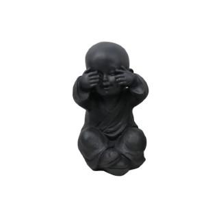 Statue de jardin Moine enfant aveugle – 19x16x27 cm 661403