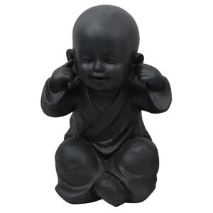 Statue de jardin Moine enfant sourd – 21x16x27 cm 661405