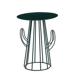 Table de service cactus verte Ø 21,5 x H 27,5 cm 661522
