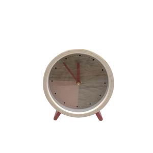 Réveil déco Bois 15x4,5x16 cm 661766