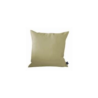 Coussin déco Argile couleur vert - 40x40 cm 661797
