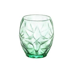 Gobelet à eau Oriente 50 cl en verre vert bleuté H 10,5 x Ø 9,6 cm 662136