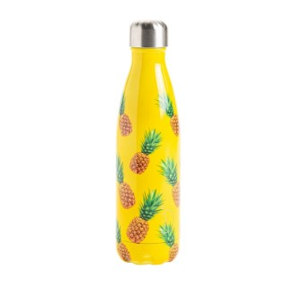 Bouteille isotherme Chilly's 500ml - Motif ananas 662202