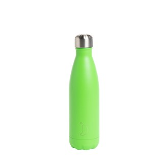 Bouteille isotherme Chilly's 500ml - Neon green 662204