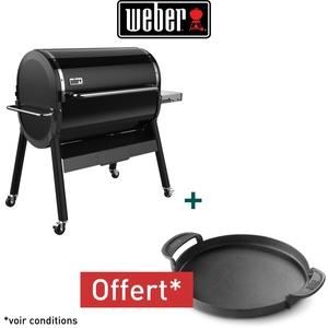 Barbecue Smokefire 36 noir 142 x 76 x 114 cm 662224