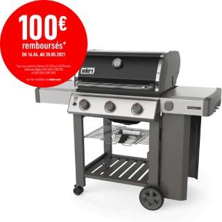 Barbecue à gaz Genesis II E-310 avec plancha coloris noir 662225