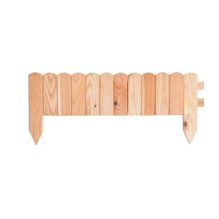 Bordure Plate lames arrondies 60x15/25 cm 662237