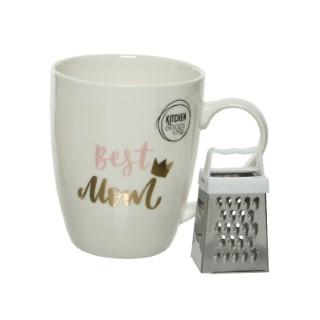 Mug en porcelaine dans boite cadeau - 8.5x12x10 cm 662358