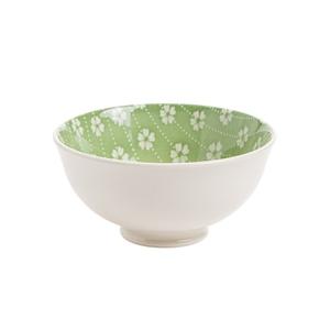 Bol en porcelaine motifs fleuris coloris assortis Ø 12 x H 6 cm 662392