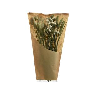 Mix de fleurs séchées blanches naturelles 662401