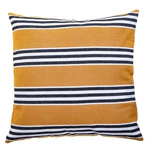 Coussin Luz en coton coloris peanut 80 x 80 cm 662777