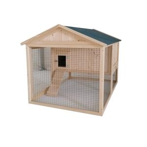 Poulailler Cassie de 1,5 m² en bois avec enclos 663325