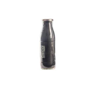 Sable décoratif naturel gris de 0,5 mm en bouteille de 500 ml 663562