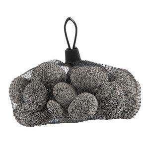 Pierres de lave grises de 20 à 40 mm en filet de 1 kg 663569