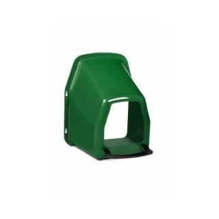 Nid pondoir mural simple vert et noir 663657