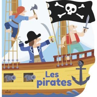 Les Pirates Mes Docs à Colorier dès 3 ans Éditions Milan 664048