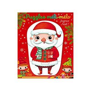 Puzzles méli-mélo joyeux Noël éditions Fleurus 665122