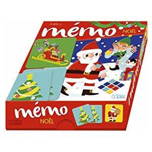 Boîte à jeux mémo de Noël éditions Lito 665127