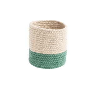 Corbeille Bicolore Ø 20 cm vert 665510