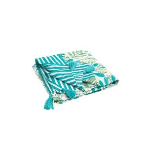 Paréo Bicolore 150 x 150 cm bleu 665513