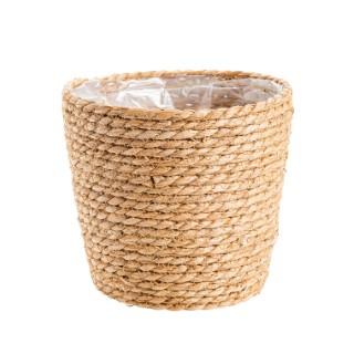 Cache-pot Vannerie Ø 24 cm 665639