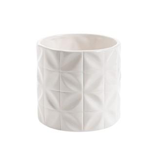 Cache-pot Amande Ø 13,5 x H 13,5 cm Céramique 665653