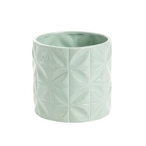 Cache-pot Amande Ø 13,5 x H 13,5 cm Céramique 665655