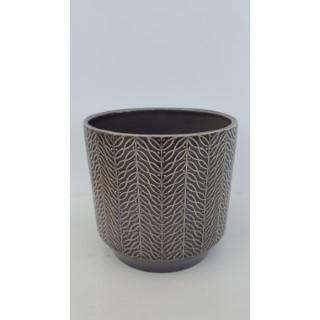 Cache-pot Leaf Ø 13 x H 13 cm Céramique 665656