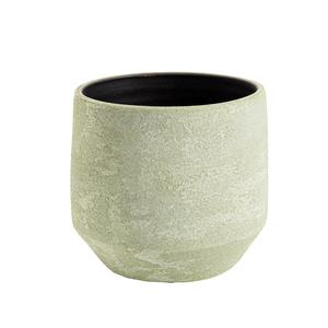 Cache-pot Sandy Ø 15  x H 15 cm Terre cuite 665663