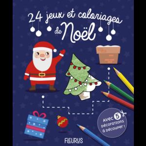 24 jeux et coloriages de Noël des éditions Fleurus 665929
