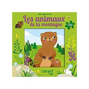 Mon livre puzzle 9 pièces les animaux de la montagne éditions Lito 666023