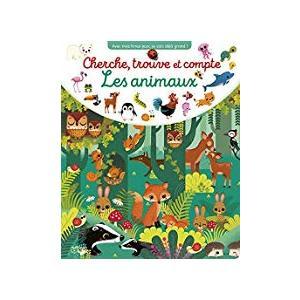 Cherche, trouve et compte les animaux éditions Lito 666024