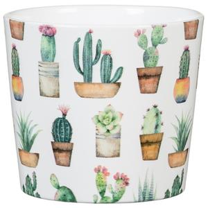 Cache-pot 870 Cactus Garden Ø 11 x H 9,3 cm Céramique émaillée 666337