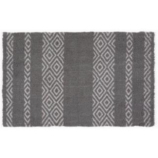 Paillasson Moelleux gris 80x50 cm 666698