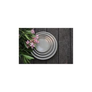 Soucoupe gamme Les poteries d'Albi coloris taupe Ø 18 x 3 cm 666724
