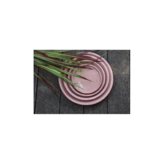 Soucoupe gamme Les poteries d'Albi coloris rose Ø 22 x 3 cm 666728