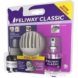 Feliway classic full pack avec 1 diffuseur et 1 Spray 667483