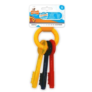 Jouet Nylabone clef pour chiot taille S 668374