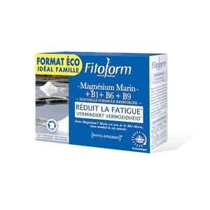 Magnésium marin et vitamines B1 B6 B9 en boîte éco de 60 comprimés 671401